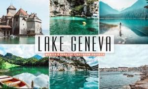 Lake Geneva Mobile & Desktop Lightroom Presets