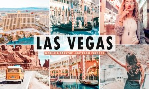 Las Vegas Mobile & Desktop Lightroom Presets