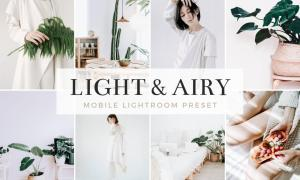Light & Airy Mobile Lightroom Preset 5185387