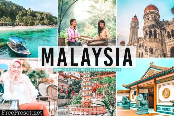 Malaysia Mobile & Desktop Lightroom Presets