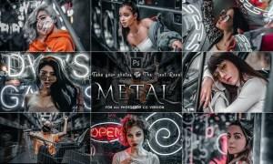 Moody Metal - Exclusive Actions Photoshop JA7MJTT