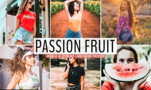 Passion Fruit Mobile & Desktop Lightroom Presets