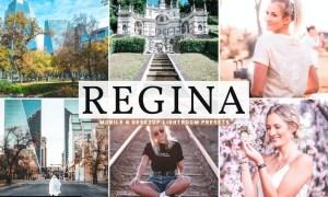 Regina Mobile & Desktop Lightroom Presets