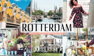 Rotterdam Mobile & Desktop Lightroom Presets