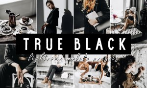 TRUE BLACK LIGHTROOM MOBILE PRESETS 4926931