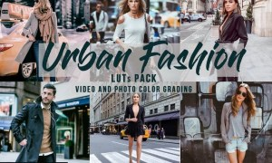 Urban Fashion - LUTs Pack