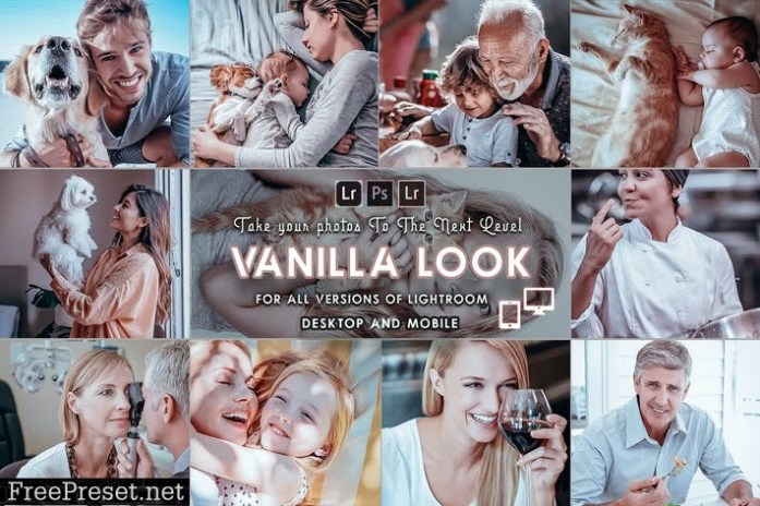 Vanilla Presets Mobile and Desktop
