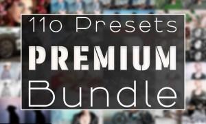 110 Premium Lightroom Preset Bundle 5096101