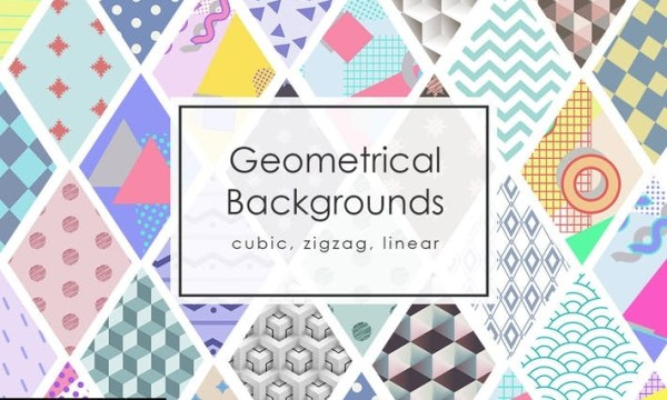 42 Geomertic Backgrounds YYN4VNF