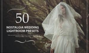 50 Nostalgia Wedding Lightroom Presets