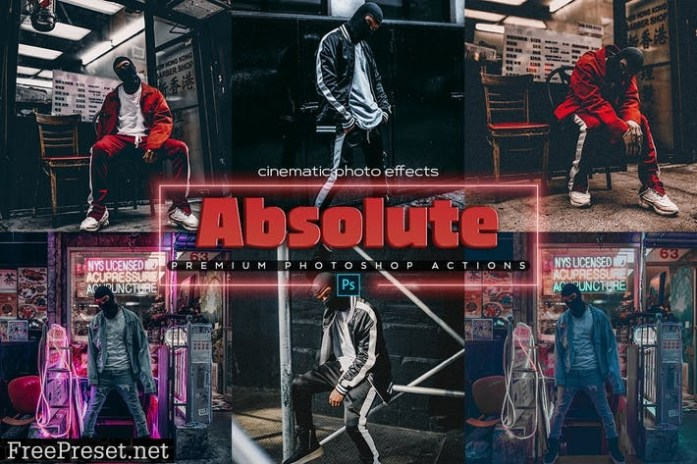 Absolute Photoshop Cinematic Actions RABMEAX