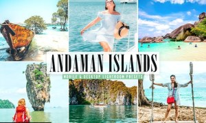 Andaman Islands Mobile & Desktop Lightroom Presets