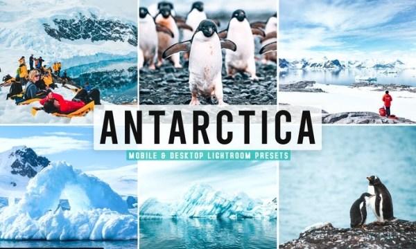 Antarctica Mobile & Desktop Lightroom Presets