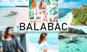 Balabac Mobile & Desktop Lightroom Presets