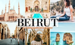 Beirut Mobile & Desktop Lightroom Presets