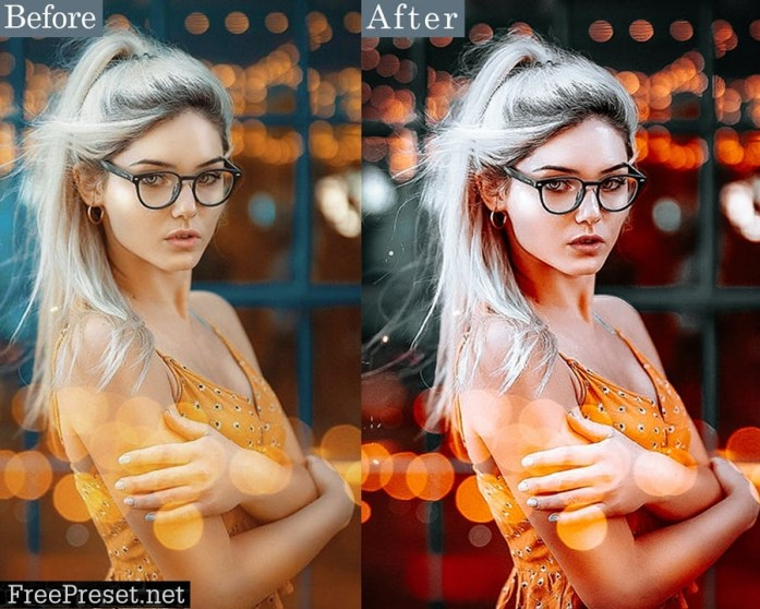 Black Tones Portrait Photoshop Actions 2H768VG
