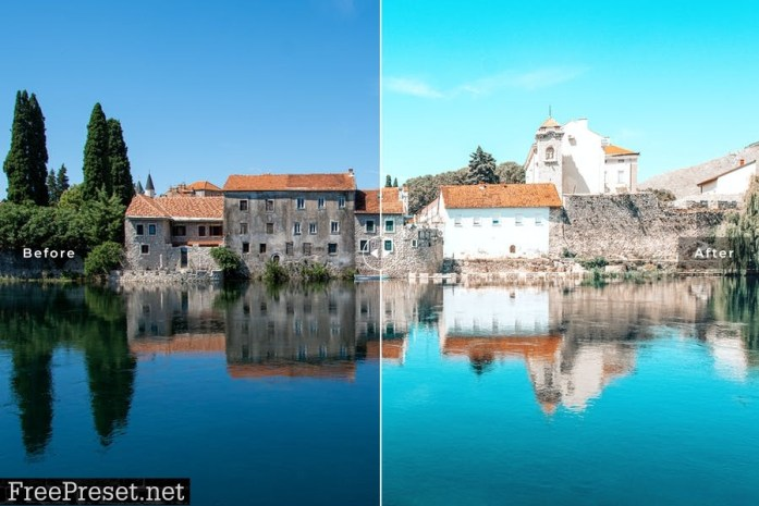 Bosnia Mobile & Desktop Lightroom Presets