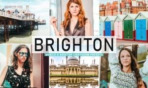 Brighton Mobile & Desktop Lightroom Presets