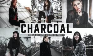 Charcoal Mobile & Desktop Lightroom Presets