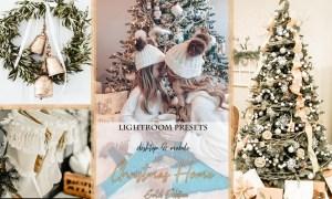 Christmas Home Gold Edition Lightroom Presets
