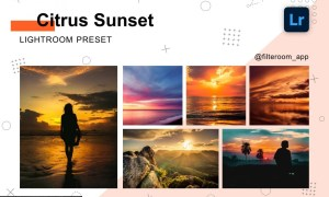 Citrus Sunset - Lightroom Presets 5238915