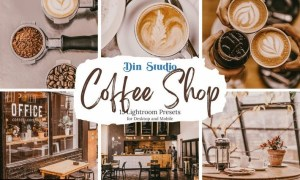Coffee Shop Lightroom Presets