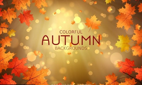Colorful Autumn Backgrounds 7SFMSBZ