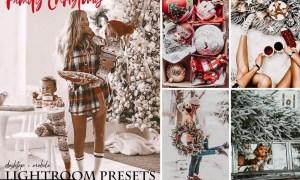 Family Christmas Lightroom Presets