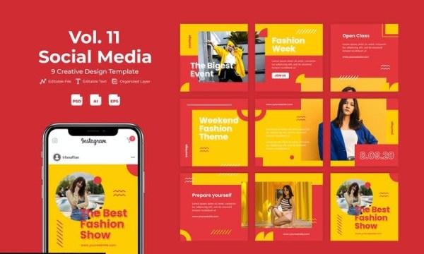 Fashvent - Social Media Template Vol. 11 87MJFC2