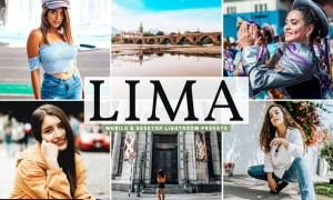 Lima Mobile & Desktop Lightroom Presets
