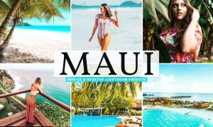 Maui Mobile & Desktop Lightroom Presets