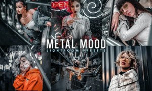 Moody Metal Presets Mobile and Desktop