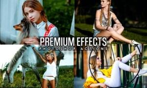 Premium Effects Photoshop Actions GVA64NW