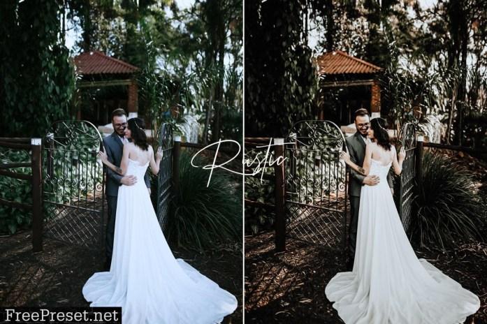 Rustic Wedding Lightroom Preset Pack 5492135