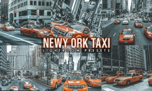 Street Taxi Cinematic lightroom presets