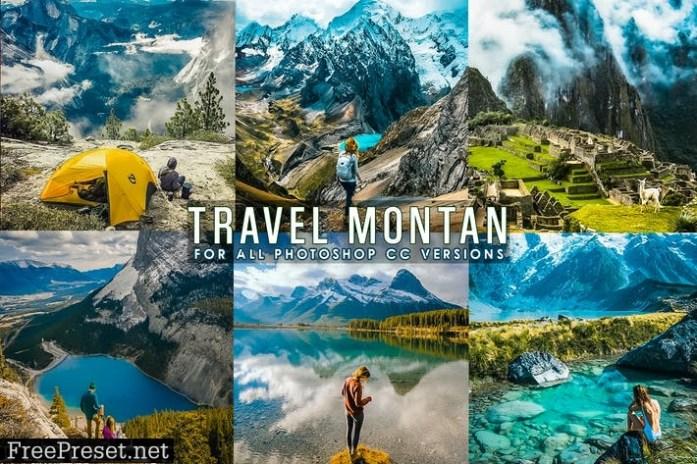 Travel Landscap Photoshop Actions Q4EDRED