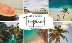 Tropical Lightroom Presets