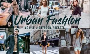 Urban Fashion - Mobile Lightroom Presets