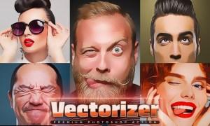 Vectorizer Photoshop Action BJZ436W