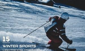 15 Winter Sports Lightroom Presets