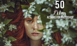 50 Film Photoshop Actions 9UKB2MM