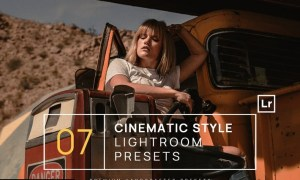 7 Cinematic Style Lightroom Presets + Mobile