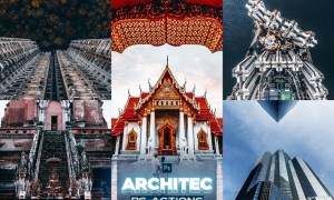 Architecture Photoshop Actions FGZDNQT