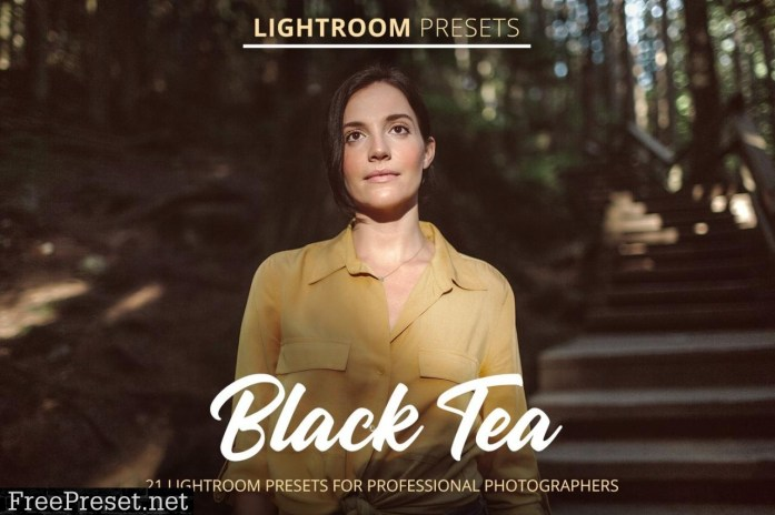 Black Tea Presets 4794226