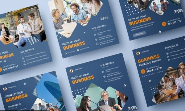 Business Services Banner Template GHGHG4L