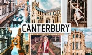Canterbury Mobile & Desktop Lightroom Presets