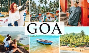Goa Mobile & Desktop Lightroom Presets