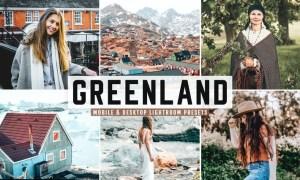 Greenland Mobile & Desktop Lightroom Presets