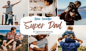 Super Dad Lightroom Presets