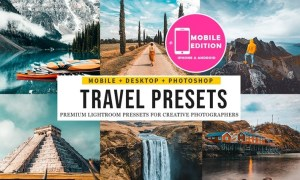 Travel insta Lightroom Presets Mobile & Desktop